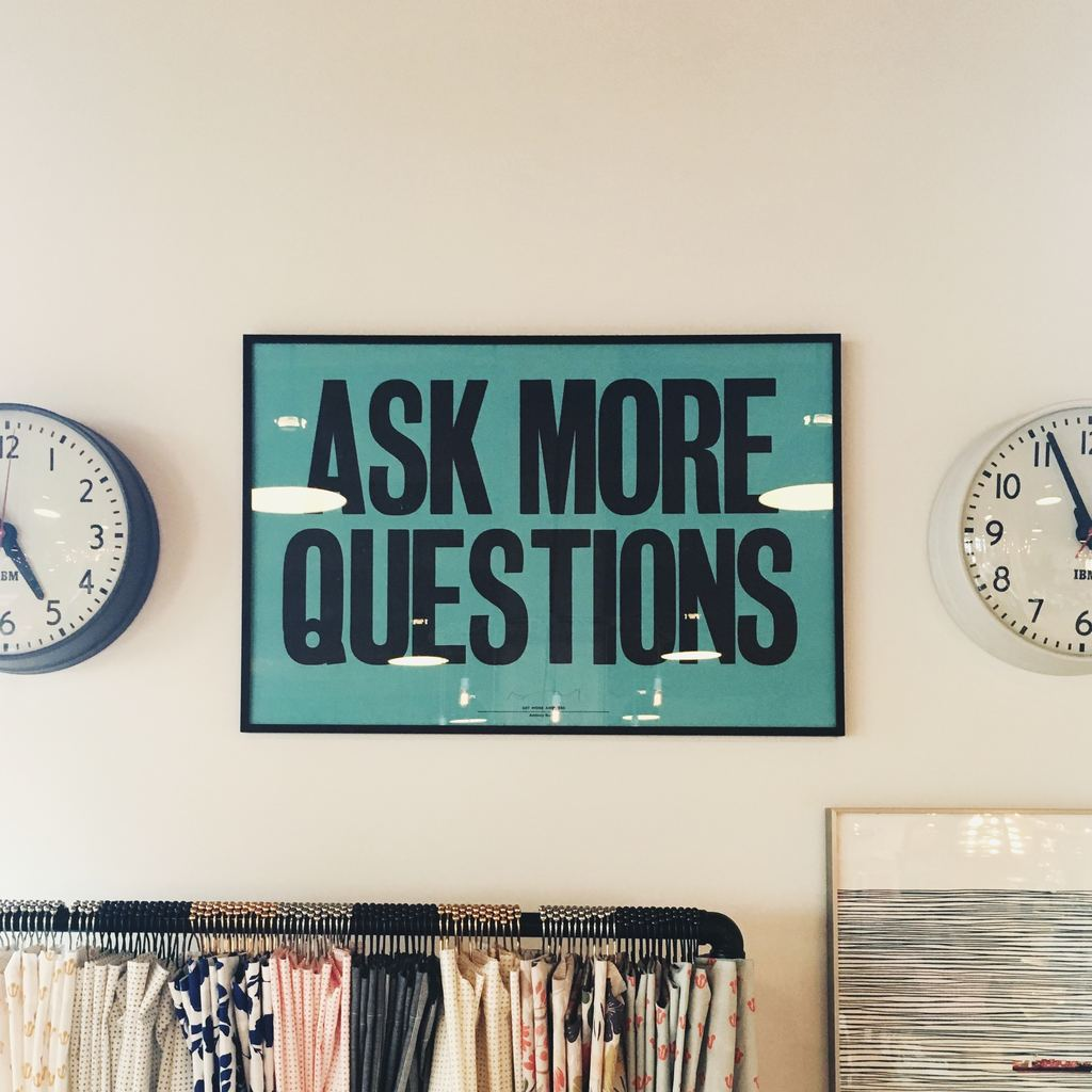Ask More Questions - offer